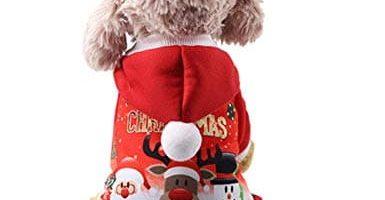 jerseys navideños para chihuahuas